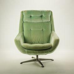 Retro Vintage, Chair, Furniture, Design, Home Decor, Velvet, Lounge Chairs, Decoration Home, Room Decor