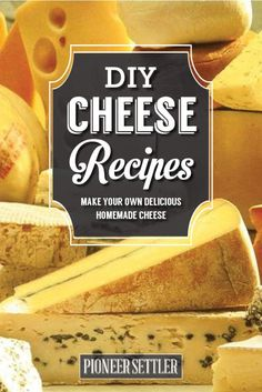9 Mouthwatering Homemade Cheese Recipes To Try This Weekend | Best DIY Recipes Of Farmers Cheese, Queso Fresco, Cream Cheese, Cottage Cheese And So Much More! by Pioneer Settler at http://pioneersettler.com/9-homemade-cheeses/