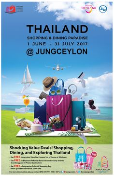Thailand shopping & dining paradise @ Jungceylon. Shocking Deals are here! From now - 31 July 2017