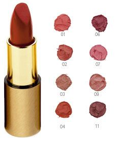 Tried #4 in the store--gorgeous brick red color! Smooth, balmy feel with pigment of a lipstick, though need to wear during the day to see how it holds up over time. Dr.Hauschka Skin Care: Natural Skin Care with Organic Ingredients; Holistic Home Remedies