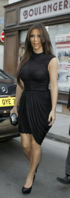 Love this LBD! Sexy but classy - leaves to the imagination!
