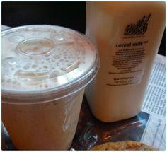 Momofuku Milk Bar, New York - Cereal Milk and Pretzel Shake