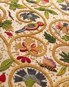 Embroidery  Elizabethan On Pinterest