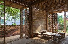 Podemos construir com bambu, por exemplo, no Brasil?