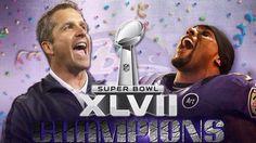 Baltimore Ravens Super Bowl 2013 champions