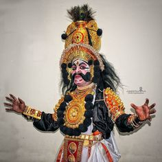 Photo by @keerthan_photography  #yakshagana  #hostel #day #goosebumps #aggressive #incredible #India #huge #moustache #dressedup #storiesofindia #story #portrait #moody #attitude #nkpofficial #natgeo #postprocess #vignette #dance #namaste #luxury #costumes #salute #indianshutterbugs #awesomeness #cheers #indiaphotoproject