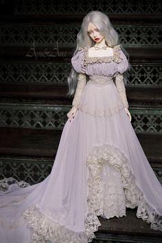 Pretty Dolls, Cute Dolls, Beautiful Dolls, Fairytale Fashion, Doll Painting, Anime Dolls, Fantasy Dress, Monster High Dolls, Handmade Dresses