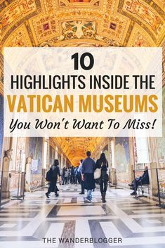 Top 10 Things To See Inside The Vatican Museums