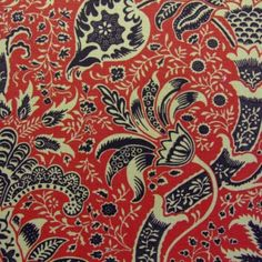 Morris Indian Fabric DMCOIN203 Designer Fabrics and Wallpapers by Sanderson, Harlequin, Morris, Osborne, Little And many more