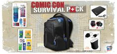 We turned to some of our favorite companies and a few of them stepped up in a BIG way!  Thanks to TYLT, Seagate, olloclip & CHIL, we have put together not one, but TWO amazing Comic Con Survival Packs, full of epic prizes that will keep you going all con long!