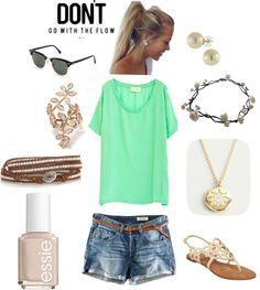 Minty Fresh, created by kelseygmccain on Polyvore