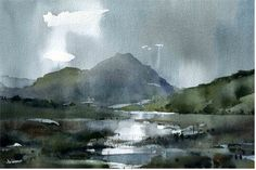 Watercolour landscapes - WetCanvas