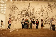 구.예.기. 10조의 3차모임은 국립현대미술관에서 올해의 작가상 후보 작품을 감상했습니다. 양철모 작가 작품 앞에서.  #공공미술 #공공미술시민발굴단 #국립현대미술관 #양철모작가