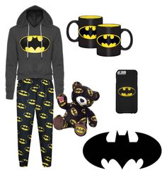 """Lazy batman outfit"" by katelyn-dowdy ❤ liked on Polyvore featuring beauty"