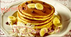 Good Morning my followers :D have a nice day #breakfast #pancakes #banana #meal #chocolate #food #dessert #sweet #delicious #foodpic