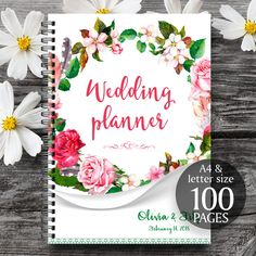 Wedding planner printable wedding planner wedding binder diy wedding planner organizer printable wedding by clairefactory solutioingenieria Images