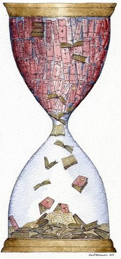 Like sands through the hourglass, so are the books of our lives...