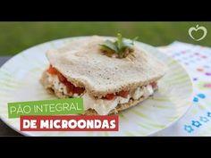 Pão integral de microondas - YouTube Blog da mimis - Esse pãozinho é tudo de bom! Feito em 2 minutos, é lowcarb e uma delícia para manter a dieta em dia