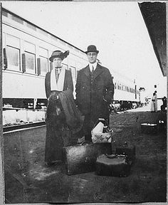 Eleanor,and Franklin Roosevelt,1910