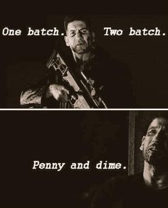 Here I come here I come #Punisher #Daredevil #JonBernthal