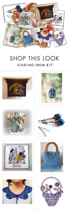 Gorgeous Blue Gifts by cozeequilts on Polyvore