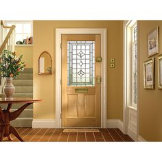 Wickes Avon External Oak Veneer Door Glazed 2 Panel 1981 x 838mm | Avon Glaze and Doors  sc 1 st  Pinterest & Wickes Avon External Oak Veneer Door Glazed 2 Panel 1981 x 838mm ... pezcame.com