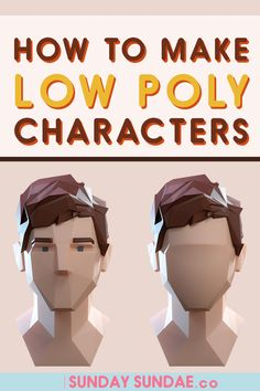 Want to create beautiful Low Poly characters? Come along as we explore the world of low poly characters. Learn how to make your characters stunning and eye catching. Blender Models, Blender 3d, Character Modeling, 3d Character, 3d Modellierung, Polygon Modeling, 3d Modeling, Low Poly Games, Cinema 4d Tutorial