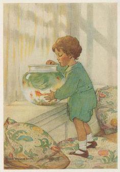 The Goldfish by Jessie Wilcox Smith