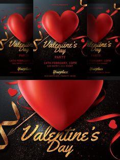 Club Flyers, Valentines Day, Valentine's Day Diy, Valentines, Valentine's Day