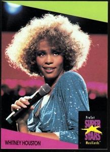 rare pictures of whitney houston | Details about WHITNEY HOUSTON 1991 Pro Set UK RARE Music Trading Card ...