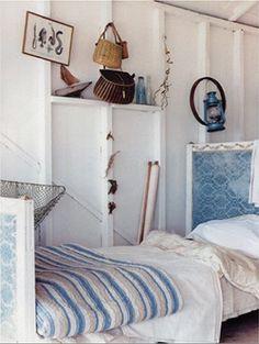 Summer coastal bedroom