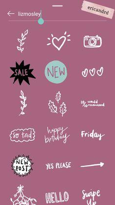 Ericandrd likes icon Instagram Emoji, Iphone Instagram, Instagram And Snapchat, Instagram Blog, Instagram Quotes, Ideas De Instagram Story, Creative Instagram Stories, Instagram Story Template, Snapchat Stickers