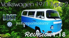 #pasionpormotortv #pasionpormotor #youtube #lost #volkswagen #azul #darma #1971 #type2 https://www.youtube.com/watch?v=fE9hiDi8iJ0