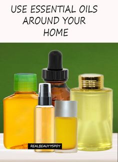 DIY ways to use essential oils for home