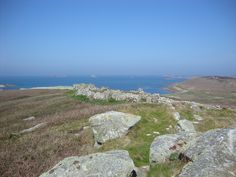 The view from Sampson, Isles of Scilly (Cornwall). Never been anywhere more secluded in my life - breathtaking. The Beautiful South, Devon And Cornwall, Mountains, Travel, Life, Viajes, Trips, Traveling, Tourism