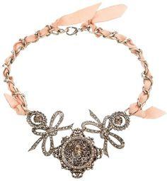 CECILIA VINTAGE skulls necklace