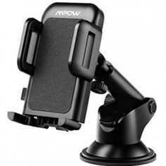 Mpow Car Phone Mount, Dashboard Car Phone Holder, Washable Strong Sticky Gel Pad with One-Touch Design Compatible iPhone 11 pro Plus,Galaxy Nexus, Black - Cool Electronics Iphone Car Mount, Car Cell Phone Holder, Cell Phone Car Mount, Magnetic Phone Holder, Car Accessories, Cell Phone Accessories, Camping Accessories, Mobile Accessories, Car Best