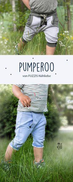 """Die Pumperoo » ein stylisches Pumphosen-Schnittmuster in ¾ Länge » mit angesagten """"Turn Ups"""" » Resümee zum Schnitt » viele Tragebilder"""