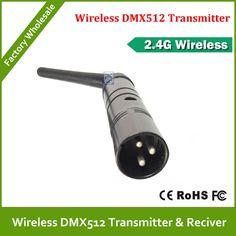 Free shipping 2.4G wireless dmx512 Controller Transmitter LED DMX light controler #Affiliate