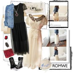 Bling Is The Thing - Romwe contest Senior Girls, Vintage Fashion, Vintage Style, Romwe, Girl Fashion, Bling, My Style, Polyvore, Outfits