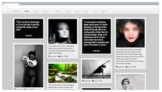 Tabula Portfolio Bootstrap Template (Pintrest like) Ui Components, Bootstrap Template, Themes Free, First Page, Best Web, Cool Websites, Website Template, Web Design, Templates