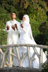 """He told his wife:   ☺ """"Alhamdulilah that I found you my princess"""" ♥   ☺ she asked him:""""who guided you to find me?""""   ☺ """"Allah,through my prayer, I always used to make this Duaa:(O Allah grant me the woman You accept to be the wife for a good servant)   ☺ """"I was waiting for you"""" said the wife after a moment of silence   ☺ """"how?"""" asked the husband smiling   ☺ """"I always used to make this Duaa in my prayer:(O Allah grant me the man You accept as a good servant)"""