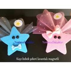 keçe ile doğum günü süslemeleri - Google'da Ara Baby Hangers, Wedding Gloves, Baby Shower Parties, Baby Shower Decorations, Sewing Tutorials, Party Favors, Baby Gifts, Diy And Crafts, Projects To Try