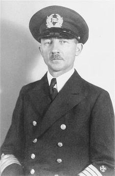 Gustav Schröder (September 27, 1885 – January 10, 1959) was a sea captain, who is best known for attempting to save 937 German Jews, who were passengers on his ship, the S.S. St. Louis, from the Nazis in 1939.