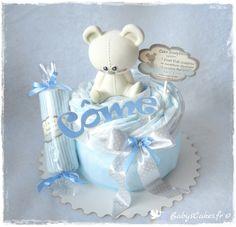 Mini gâteau de couches Candy Joséphine jouet Vulli et son body bébé