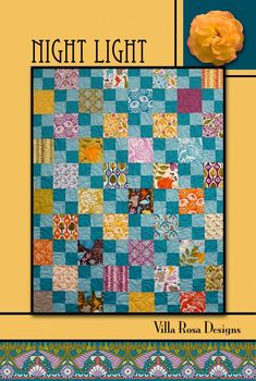 """40 5"""" Squares.....4 Patches 1/2 yd each of 2 fabrics.....Binding 1/2 yd"""
