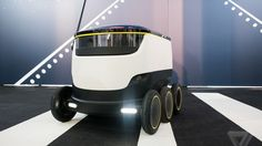 These six-wheeled robots are about to start delivering food in the US