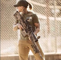 """Kinessa Johnson is a Afghanistan vet, a sniper, and """"Anti-Poaching Advisor"""" with Veterans Empowered To Protect African Wildlife."""