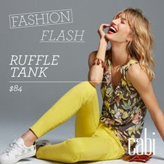 All August hostesses can order one Fashion Flash item at 1/2 price July 1. Have it for your show!