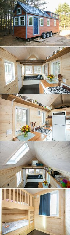 Hogan's Haven: a 186 sq ft tiny house shared by a family of four